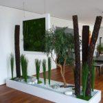 Перегородка из растений: экологическая стенка в доме