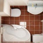 Ремонт ванной в хрущевке: как бороться с теснотой?