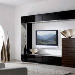 Современные стильные стенки для гостиных