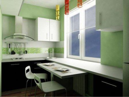 Дизайн кухни 3 на 3 фото