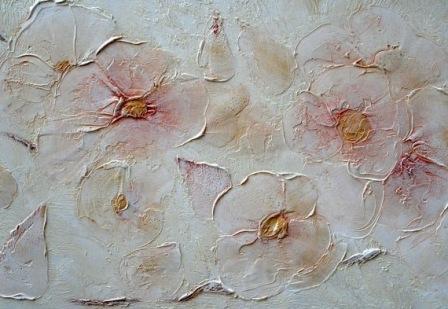 Картины из декоративной штукатурки