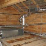 Система отопления в каркасном доме