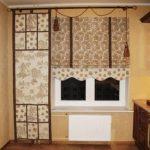 Шторы для маленькой кухни и дизайн занавесок: фото и выбор стиля