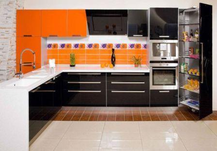 фото встроенные кухни