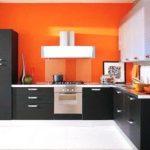 Дизайн кухни оранжевого цвета: фото и практические советы