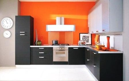 кухни оранжевого цвета