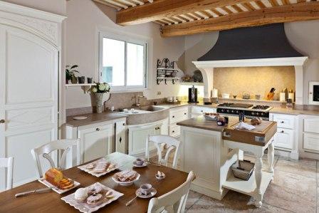 кухни в стиле прованс интерьер