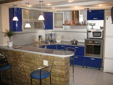 кухня игостиная фото