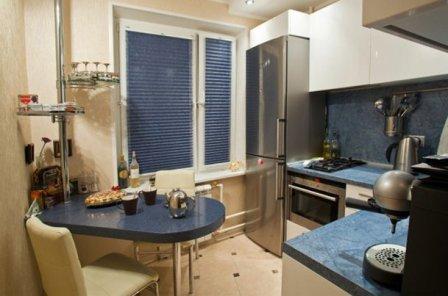 кухня в брежневке дизайн