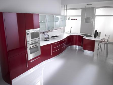 встроенные кухни дизайн