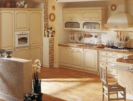 Итальянские кухни в классическом стиле