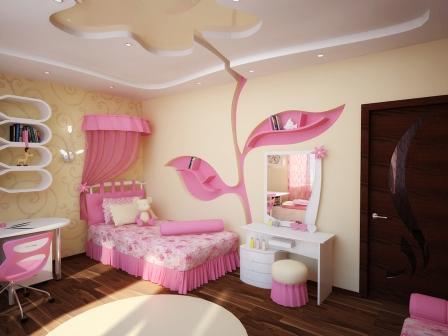 Мебель для комнаты девочки фото