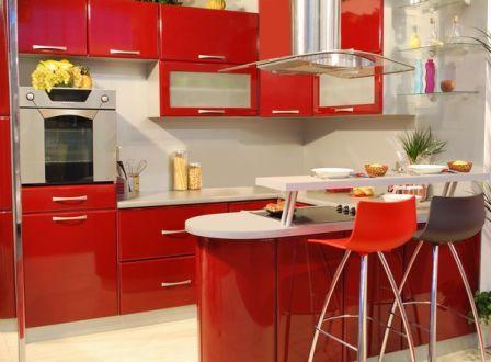 Модные цвета для кухни фото