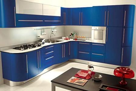 Модные цвета для кухни в этом году