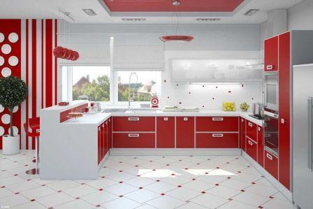 Модные цвета для кухни