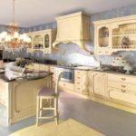 Итальянские кухни в классическом стиле: фото, мебель, интерьер