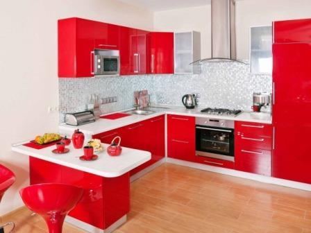 как оформить маленькую кухню фото