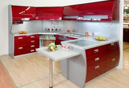 ак оформить маленькую кухню