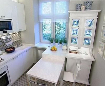 планировка маленькой кухни 1