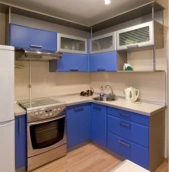 планировка маленькой кухни 2