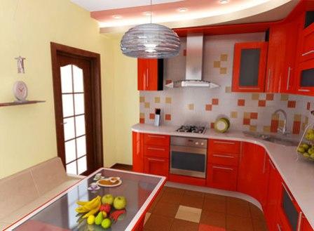 ремонт кухни красиво