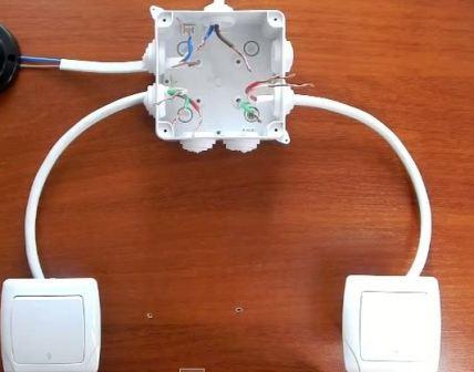 Проходной выключатель или свет