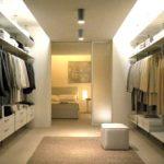 современные гардеробные комнаты