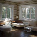 Этапы возведения дома из оцилиндрованного бревна