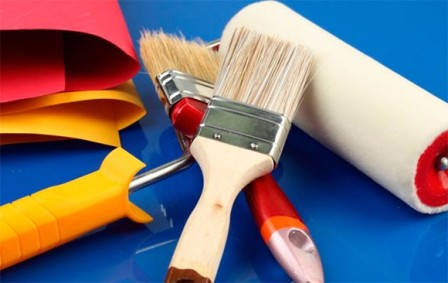 Чем и как красить кухню и ванную