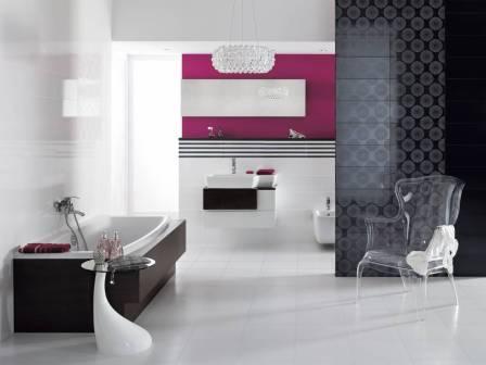 варианты применения керамической плитки
