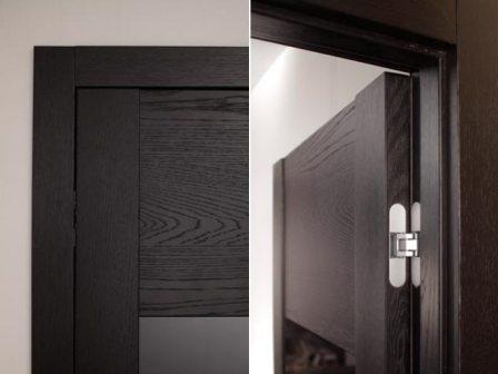 скрытые дверные петли