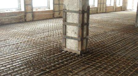 усиление колонн зданий