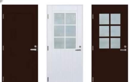 Финские тёплые двери