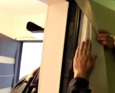 Как утеплить входную железную дверь