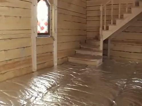 утеплить цоколь бани