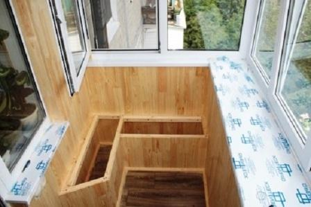 ящик для картошки на балконе