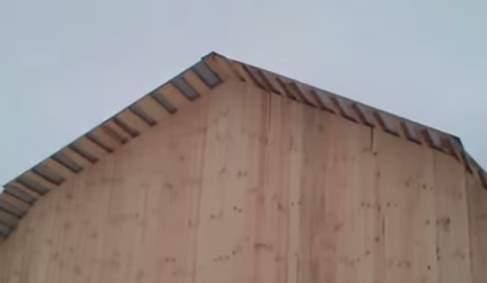 Как утеплить фронтон дома