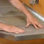 Как сделать столешницу из плитки своими руками?