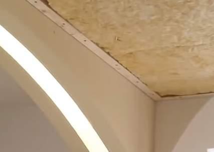 Шумоизоляция натяжных потолков