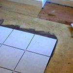 деревянный пол под укладку плитки