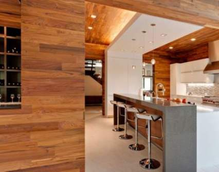 Деревянные панели для внутренней отделки