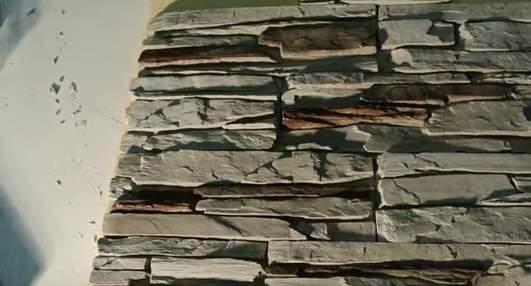 Искусственный камень для внутренней отделки