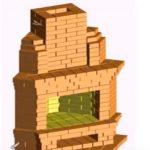 Как построить угловой камин самостоятельно