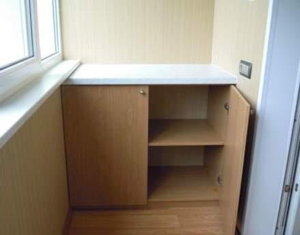 Шкаф на балконе фото 1