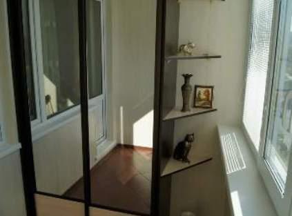 Шкаф на балконе фото 3
