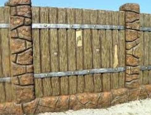 Забор частный дом