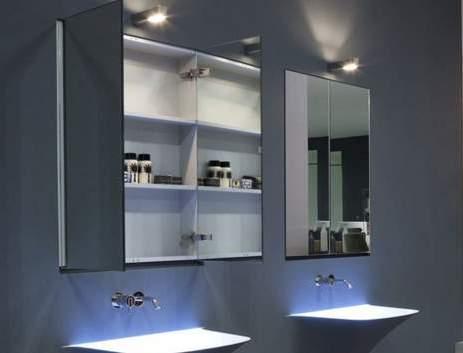зеркала в ванной комнате