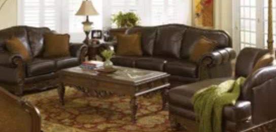 Кожаная мебель для гостинной