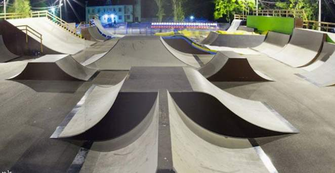 Скейт парки и скейт площадки