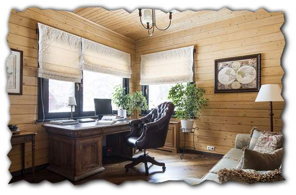 кабинет дома фото